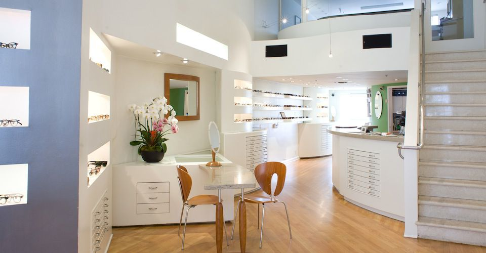Oliver Peoples West Hollywood Eyewear boutique in Los Angeles