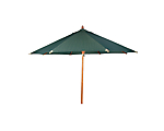 Umbrella Market Green Canvas 10' Wide (Limited) (Umbrella Base Not Included)