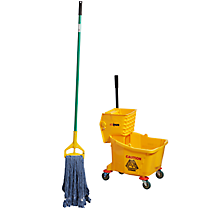 Check out the Mop and Bucket for rent