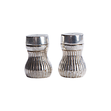 Check out the Silver Faceted Salt and Pepper for rent