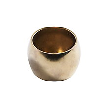 "Check out the Gold Napkin Ring Round 3/4"" for rent"