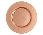 Copper Metallic Charger / Tray 13""