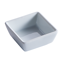 "Check out the Tasting Ceramic Square Dish 2.5"" for rent"