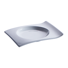 "Check out the Tasting Ceramic Wave Dish 6.25"" for rent"