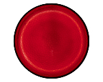 "Hammered Red Glass Charger 13"" (Limited)"