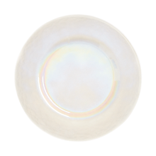 "Check out the Iridescent Pearl Dinner Plate 11"" for rent"