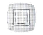 "Woven Glass Square Charger 12.5"" (Limited)"