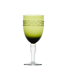 Check out the Cypress Green Goblet 15.5 oz. for rent