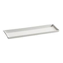 "Check out the Mini Ceramic Rectangular Plate 10.25"" x 3.375"" for rent"