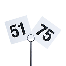 Check out the Printed Table Numbers 51 - 75 for rent