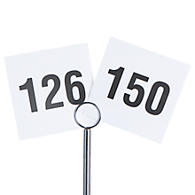 Check out the Printed Table Numbers 126 - 150 for rent