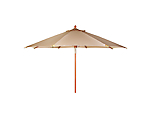 Umbrella Market Toast Canvas 10' Wide (Umbrella Base Not Included)