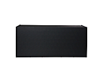 Bar Screen Black Pebble 6' (6x36x42H Table Not Included)