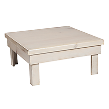 """Check out the Cassis Table Riser 30""""Lx30""""Wx14.5""""H for rent"""