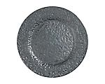 "Hammered Silver Metallic Glass Charger 11.75"" (Limited)"