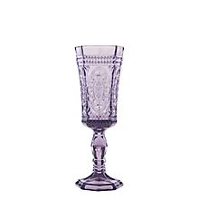 Check out the Roma Amethyst Flute Glass 4 oz. (Limited Quantities Available) for rent