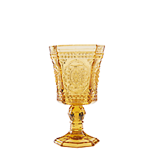 Check out the Roma Amber Goblet 8 oz. (Limited Quantities Available) for rent