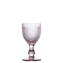 Check out the Regency Pink Tinted Goblet 9 oz. for rent