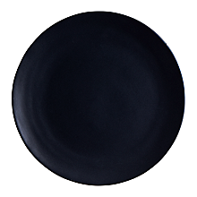 """Check out the Aster Matte Black Dinner Plate 10.75"""" (Limited) for rent"""