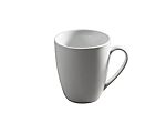 White Coupe Mug 12oz