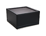 Metro Black Coffee Table Square
