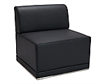 Metro Black Armless Chair