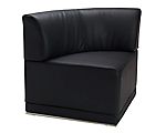 Metro Black Corner Chair