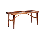 "Mason High Dining Base 42""H (Must Order Mason High Dining Table Top 8'x36"")"