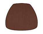 Cushion Shantung Chocolate