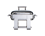 Chafer Stainless Square 4 qt. Hammered (Liner and Sterno 7oz Not Included)