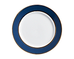 State Plate w/ Gold Border Navy 11.25 in.