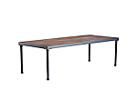 "Loft Walnut Dining Table Insert 8'x42"" Top (Must Order Loft Table Base)"