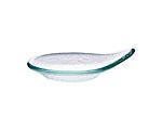 Tasting Ocean Glass Teardrop Plate 3 in.