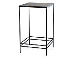 Wrought Iron Cocktail Table Top Grey Distressed (Top Only)