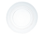 """Glass Dot Charger 12"""" Clear"""