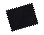 Pipe & Drape Bengaline Black 8'H (3 Complimentary Drapes per Crossbar)