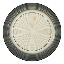 "Check out the Noma Green and Ivory Ombre Glass Charger 13"" for rent"