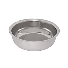 Check out the Stainless Hammered Chafer Liner Round 3 qt. for rent