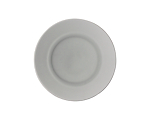 Glass Smoke Salad/Cake Plate 7.75 in.