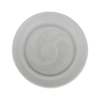 """Example of Smoke Glass Lunch Plate 9"""""""