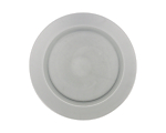 Glass Smoke Dinner Plate 10.75 in.