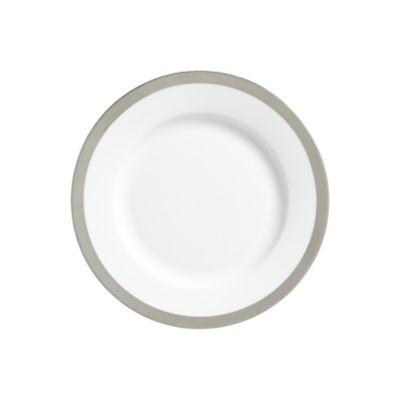 "Example of York Platinum Border Salad Plate 8"""