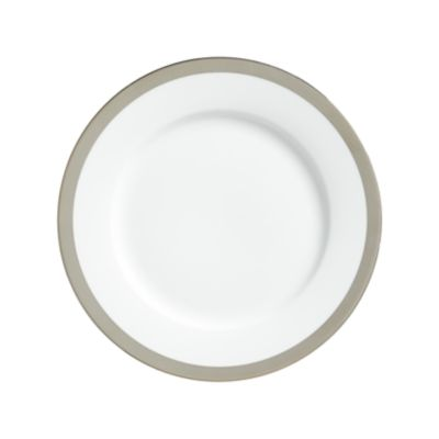 """Example of York Platinum Border Lunch Plate 9"""""""