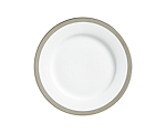 York Platinum Border Lunch Plate 9 in.