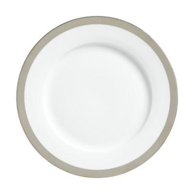 "Example of York Platinum Border Dinner Plate 10.75"""