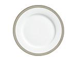 York Platinum Border Dinner Plate 10.75 in.