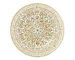 Samarah Metallic Glass Charger 13 in. Gold