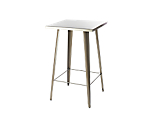 Market Bistro Cocktail Table Pewter 42 in.H