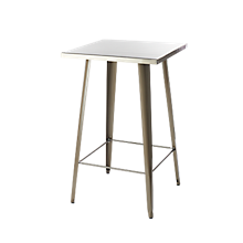 Check out the Market Bistro Cocktail Table Pewter for rent