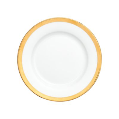 """Example of York Gold Border Salad Plate 8"""""""